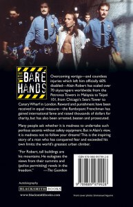 With Bare Hands: back cover