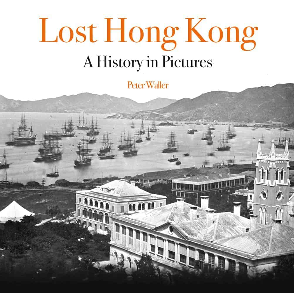 Book cover image - Lost Hong Kong