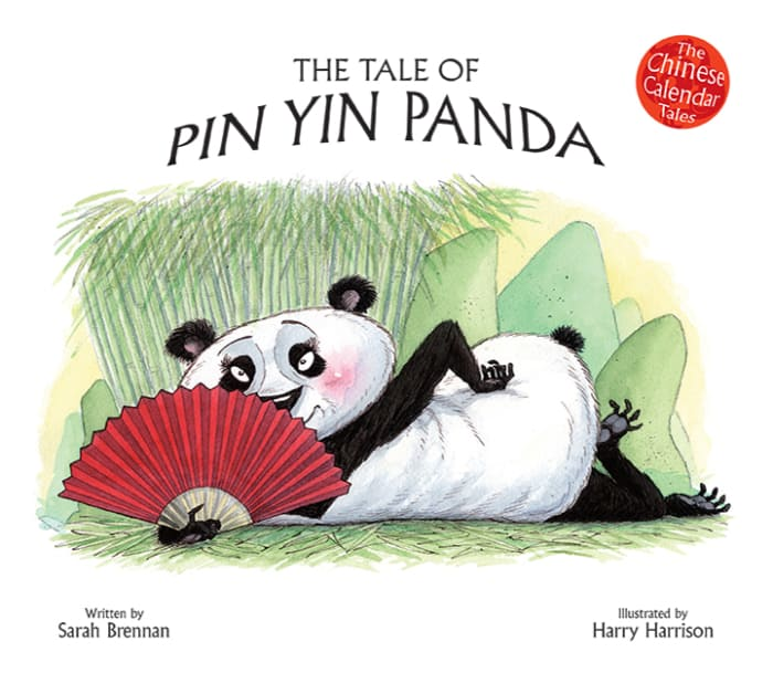 Book cover image: The Tale of Pin Yin Panda