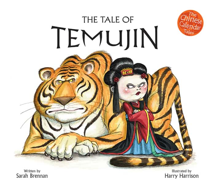 Book cover image: The Tale of Temujin