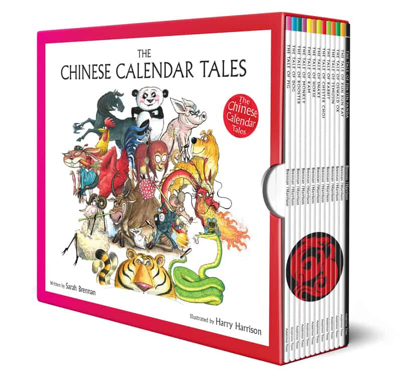 Book cover image: Boxed Set of 12 Chinese Calendar Tales