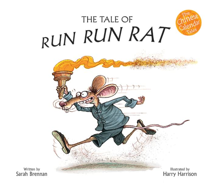 Book cover image: The Tale of Run Run Rat